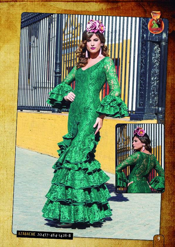 Trajes de flamenca tendencias 2018 transparencias