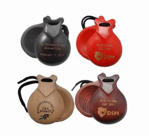 Personalized Castanets