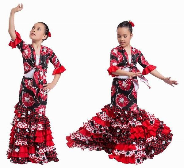 Flamenco Skirts for Kids