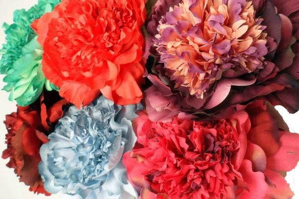 Handmade Flamenco Flowers
