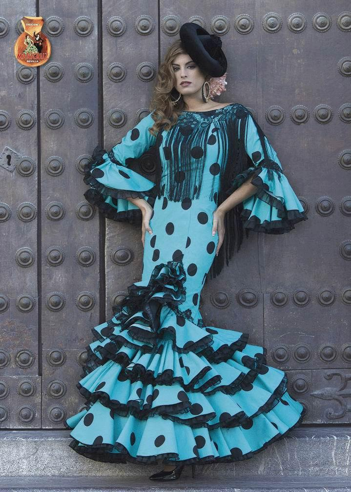 Flamenca Dress Gitana model. 2017-2018