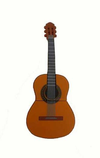 cl usb guitarra m moire flash 8 gb. Black Bedroom Furniture Sets. Home Design Ideas