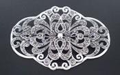 Brooches for wedding veils