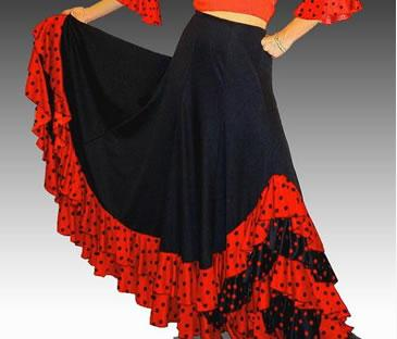 Jupes flamenco