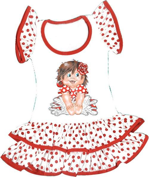 Sevillan dress for children