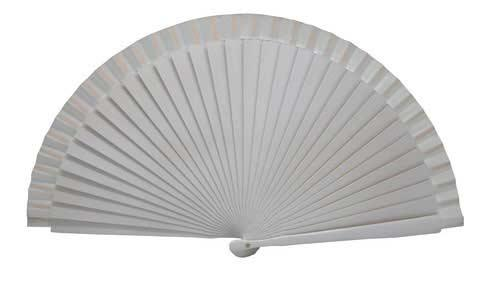 White fan without ring