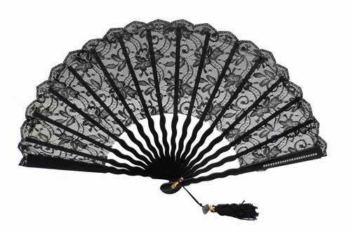 eventail de c r monie pour demoiselle d honneur avec blonde noire. Black Bedroom Furniture Sets. Home Design Ideas
