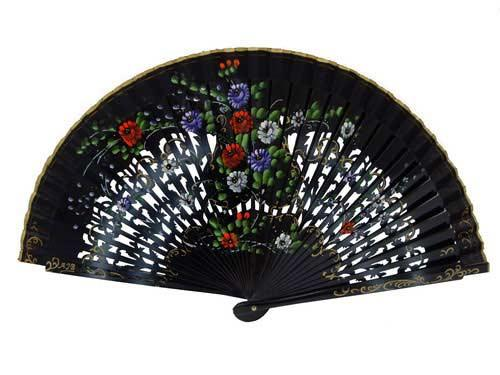 Painted fans for flamenco dance ref. 4187