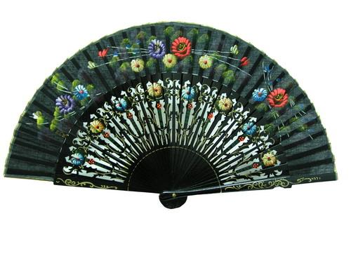 Painted fans for flamenco dance ref. 109