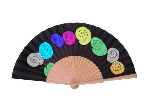 Abanicos on pinterest hand fans painted fan and chinese - Como pintar abanicos ...