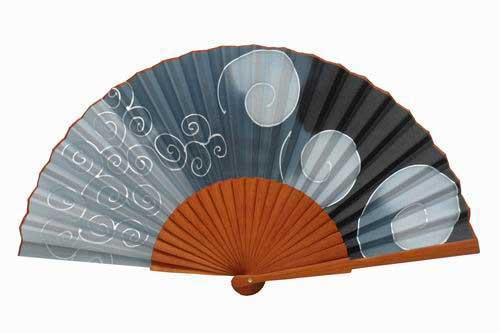 Hand painted silk fans - Abanicos para pintar ...