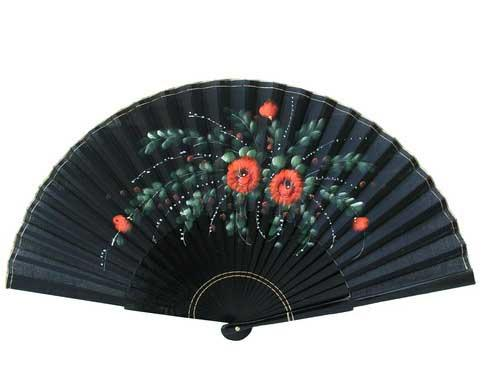 Painted fans for flamenco dance ref. N910