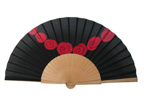 Abanicos on pinterest hand fans painted fan and chinese - Abanicos para pintar ...
