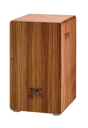 mod. zebrano profesional Flamenco percussion box (box-drum) - la perú