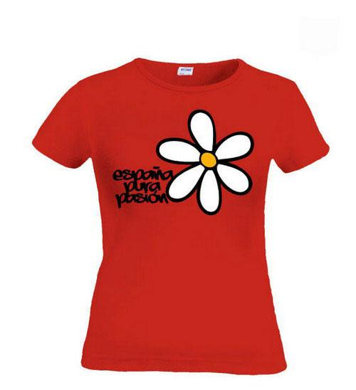 Pure passion Spanish t-shirt