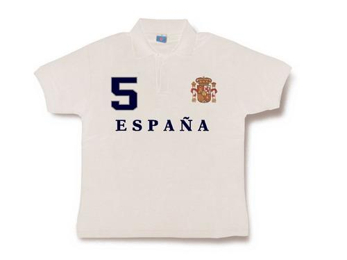 Spain Polo for men. White