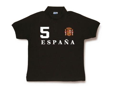 Spain Polo for men. Black