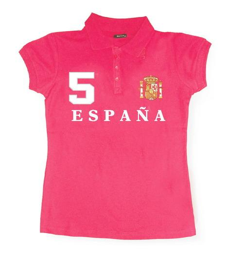 Spain Polo for women. Fuschia