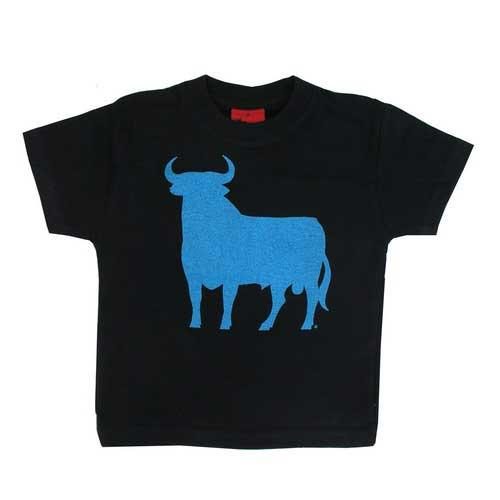 T-shirt for children with the blue Osborne bull