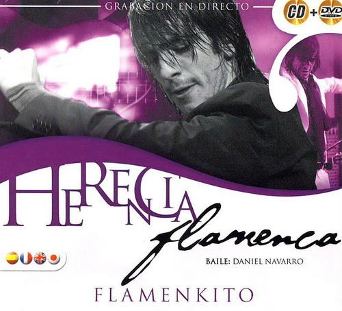 Flamenco Inheritance Flamenkito CD + DVD