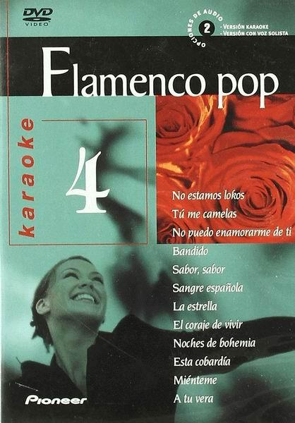flamenco pop (karaoke) - (dvd)