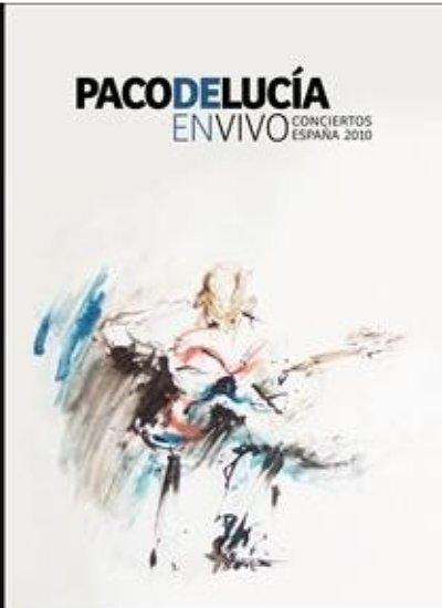 Concerts en direct Espagne 2010 CD + DVD. Paco de Lucía
