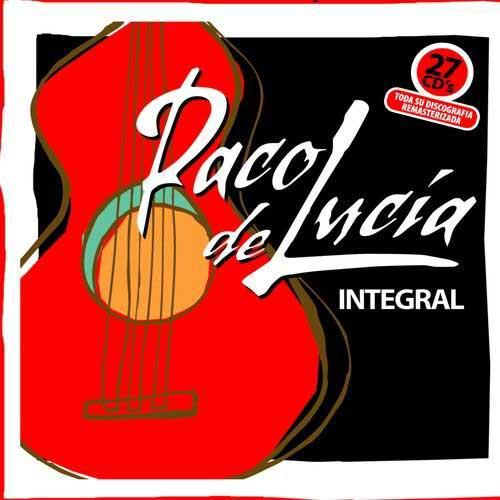The complete of Paco de Lucía (27 CDs) Reissue