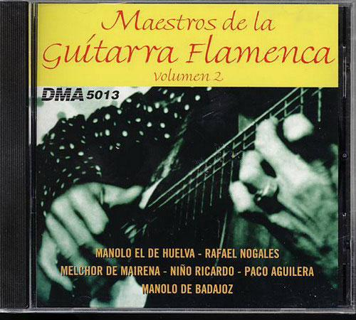 CD Maestros de la Guitarra Flamenca - ボリューム2
