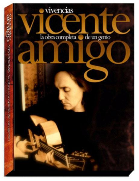Vicente Amigo.Vivencias. The complete work of a genious (6 CDs + 1 DVD)