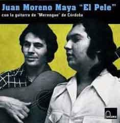 "Juan Moreno Maya ""El Pele"" with the guitar of ""Merengue""of Cordoba."