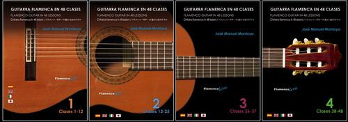 Flamenco Guitar in 48 lessons by Jose Manuel Montoya