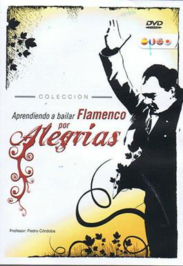 Learning to dance flamenco for Alegrias - DVD