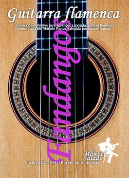 Manuel Salado: Flamenco Guitar . Vol 5 Fandangos. Dvd+Cd