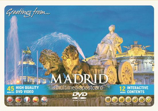 Madrid. Multimedia Postcard. Dvd