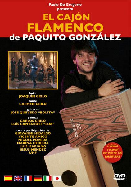 The flamenco cajón by Paquito González. 2Dvds