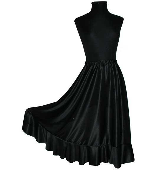 Flamenco skirt with flounce. Initiation- Beginners for adults