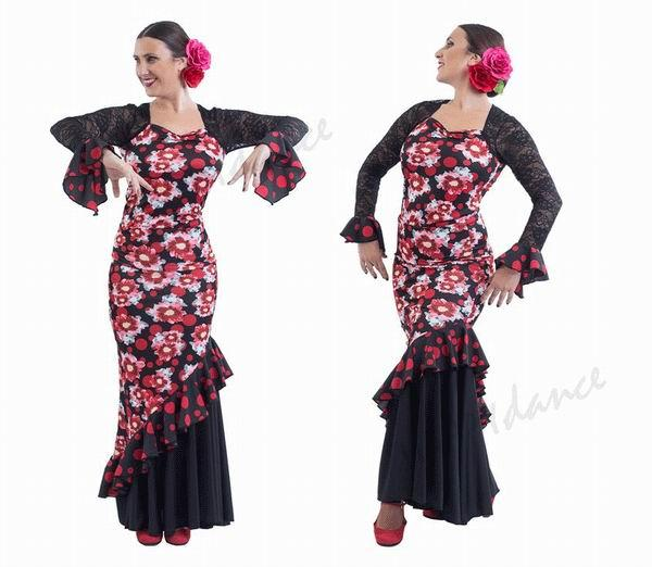 Skirt for Flamenco Dance by Happy Dance Ref.EF130PE29PS80PS13