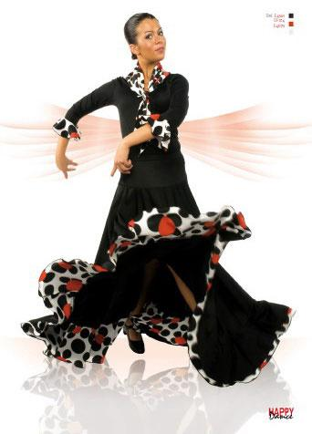 Skirts for flamenco dance Happy Dance Ref.EF014PS13PS128