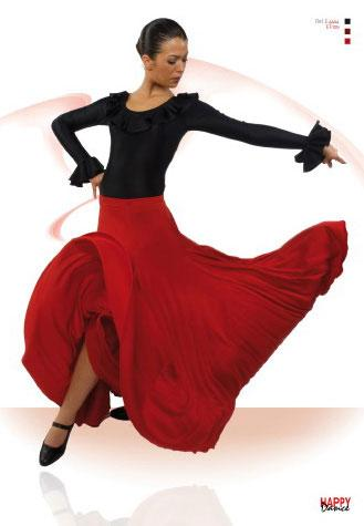 Jupe pour la danse flamenco par Happy Dance Ref.EF105