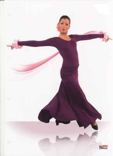 Faldas para Baile Flamenco Happy Dance Ref.EF108PS26