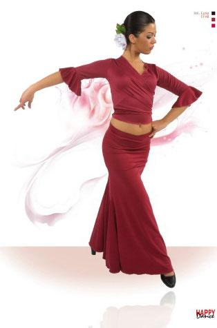 Faldas para Baile Flamenco Happy Dance Ref.EF118PS2