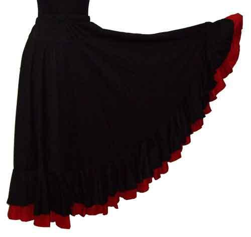 Economic flamenco skirts
