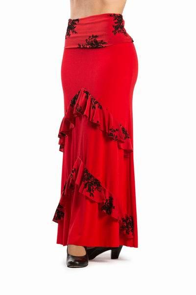 Flamenca Skirt Candil