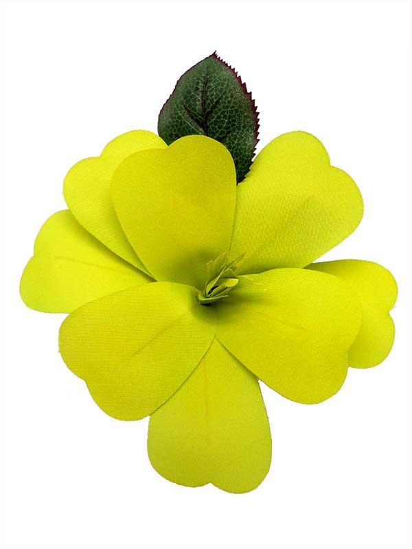 fleur flamenco pour cheveux artesana vert pistache. Black Bedroom Furniture Sets. Home Design Ideas