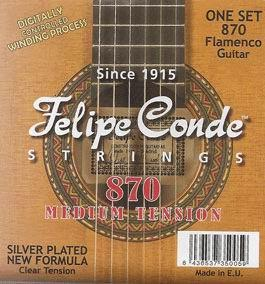 Strings for guitar. Felipe Conde 870