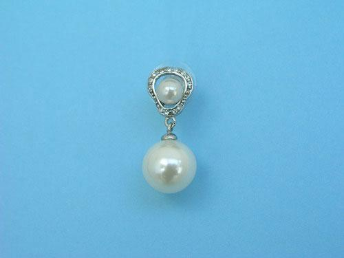 Fancy jewel earrings with pearls and brilliants ref. 111222