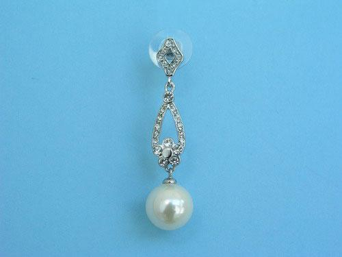 Fancy jewel earrings with pearls and brilliants ref. 111228
