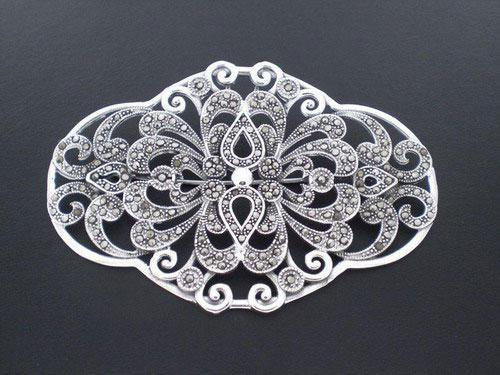 Silver and Marcasita brooch ref.074