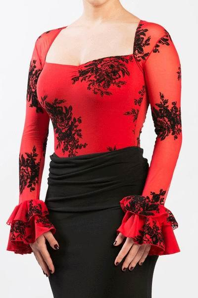 Body Flamenco Modelo Cernuda. Ref. 3807