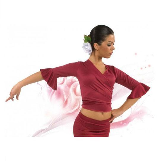 Chaqueta bolero cruzada Happy Dance. Ref. E4152PS02